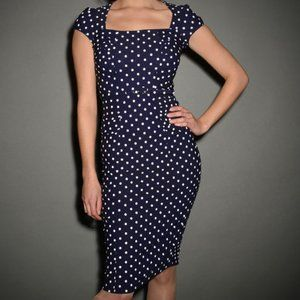 Stop Staring Celebrity Polka Dot Dress